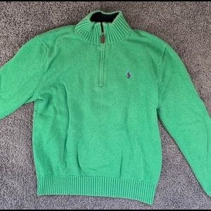 Ralph Lauren Quarter-Zip Sweater!